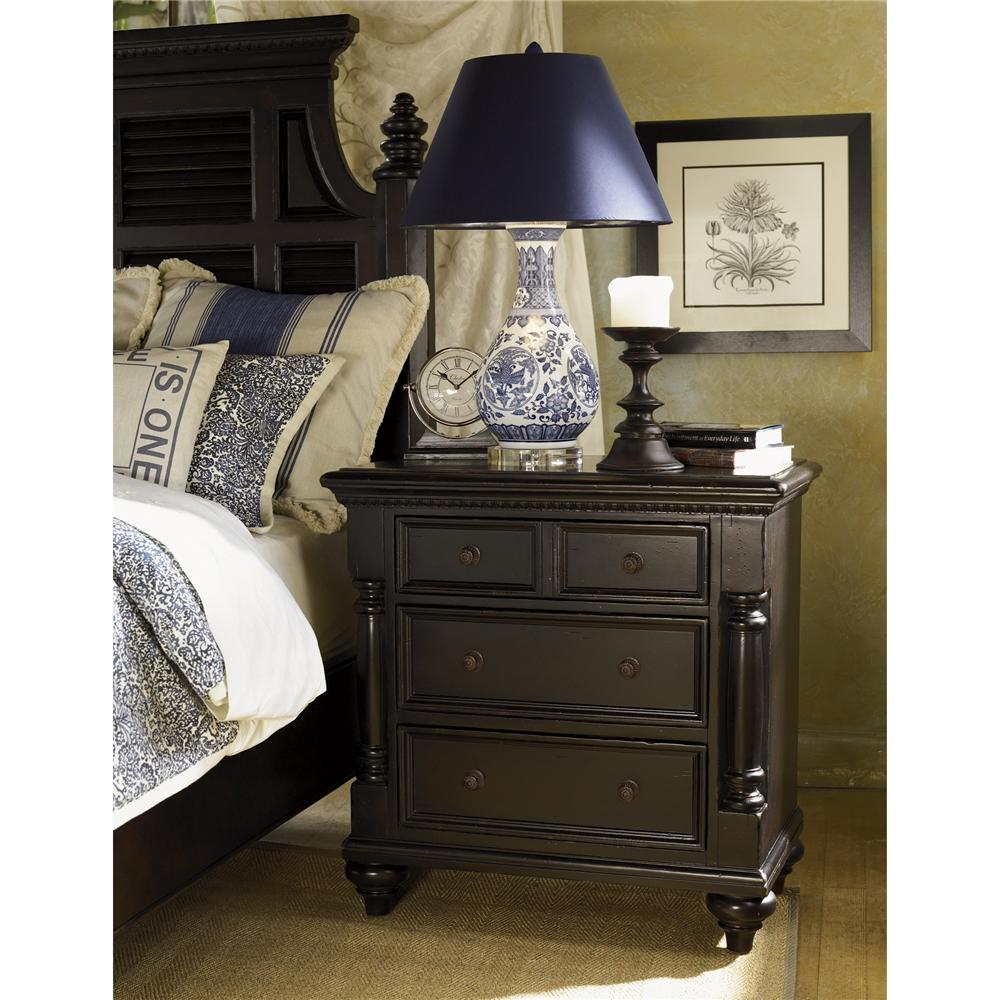 Tommy Bahama Home Kingstown Stony Point Night Stand - Item Number: 01-0619-624