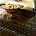 Tommy Bahama Home Kingstown Maldive Buffet with Hammered Copper Surface