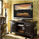 Tommy Bahama Home Kingstown Harrington Entertainment Console with Interchangeable Doors