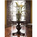Tommy Bahama Home Kingstown Marigot Center Table with Antiqued Mirror Top