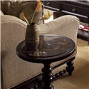 Tommy Bahama Home Kingstown Pitcairn Accent Table with Stone Top