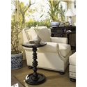 Tommy Bahama Home Kingstown Pitcairn Accent Table with Stone Top - Shown with Osbourne Chair