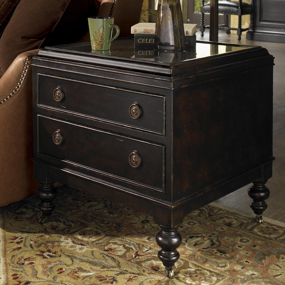 Kingstown Nelson End Table by Tommy Bahama Home at Baer's Furniture