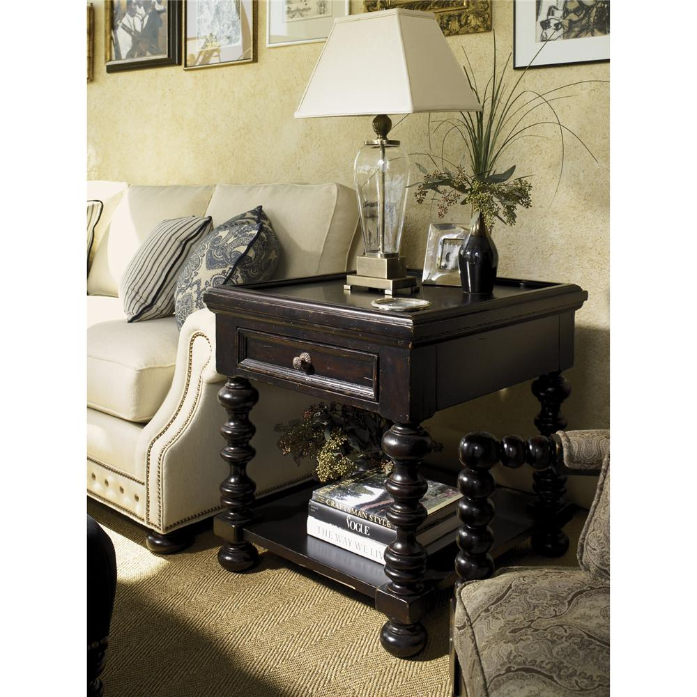 Kingstown Explorer End Table by Tommy Bahama Home at Baer's Furniture