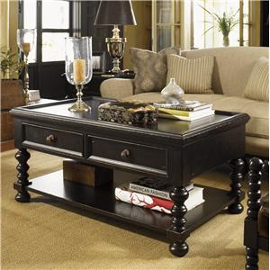 Tommy Bahama Home Kingstown Explorer Cocktail Table