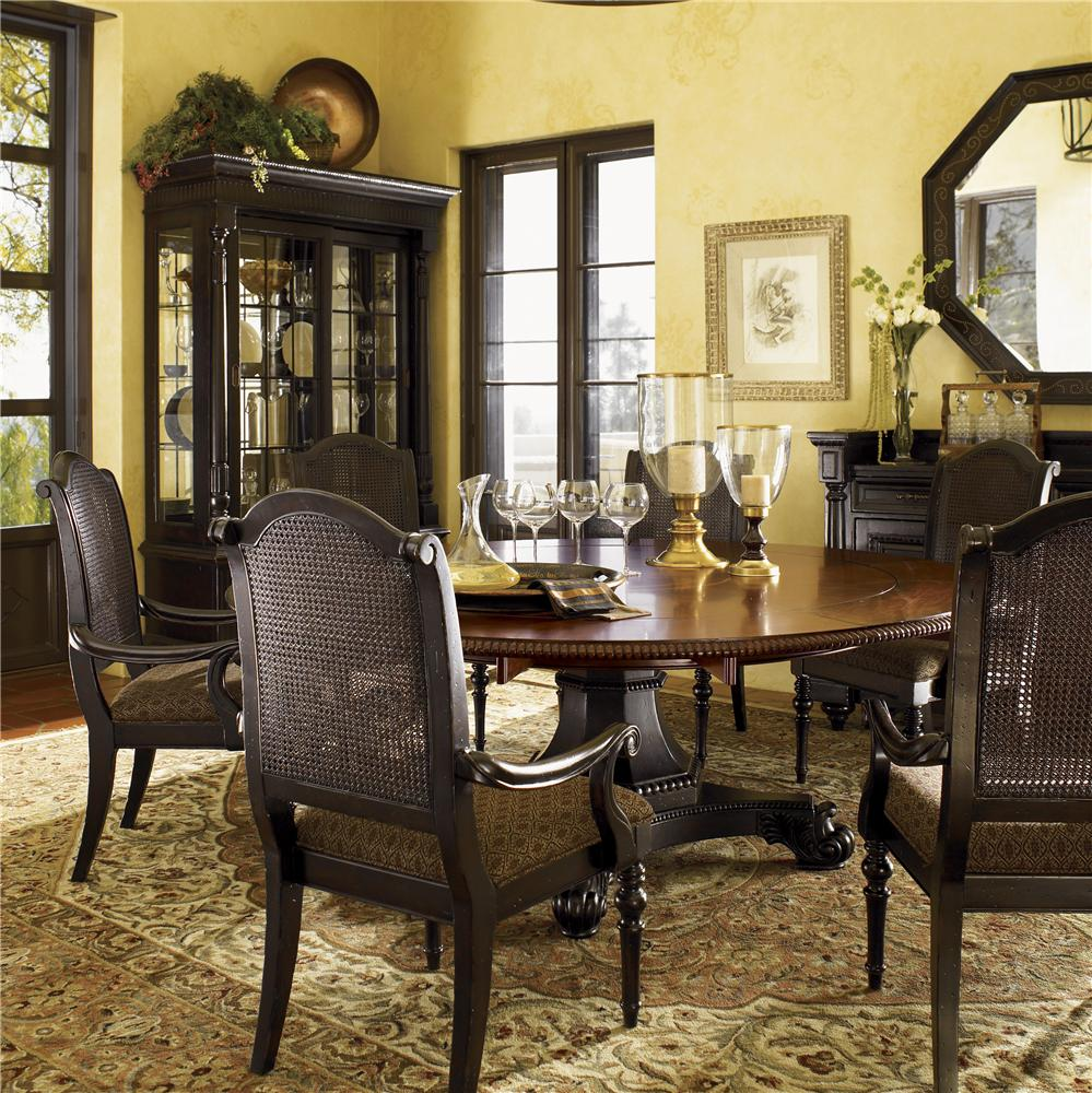 Tommy Bahama Dining Room Furniture: Tommy Bahama Home Kingstown Bonaire Dining Set With 6