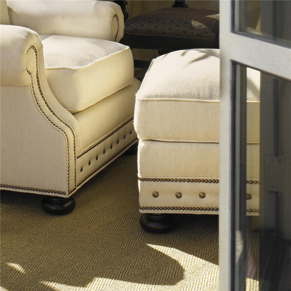 Kingstown Osbourne Ottoman by Tommy Bahama Home at Baer's Furniture