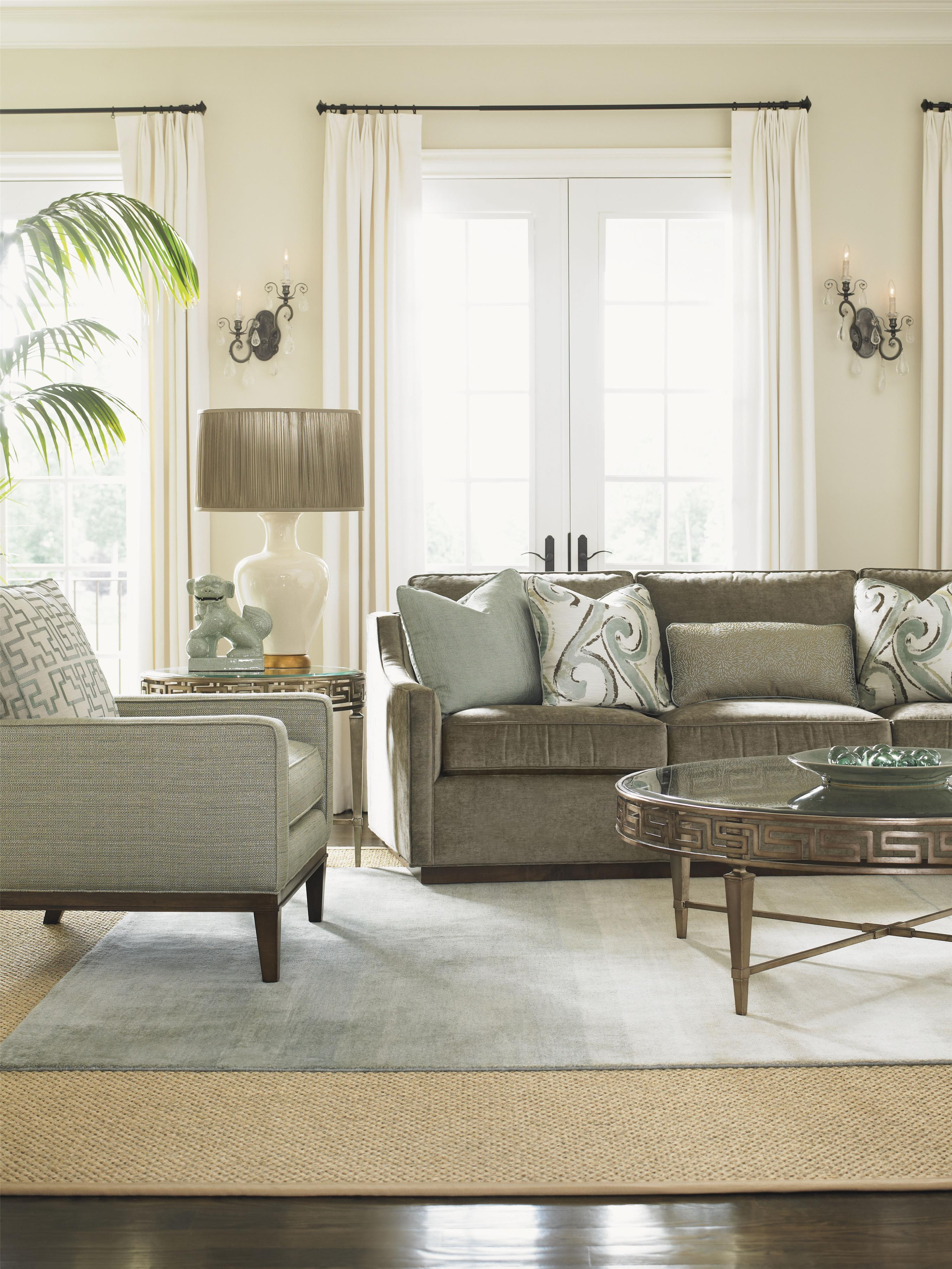 Lexington Tower Place Contemporary Bartlett Sofa with ...