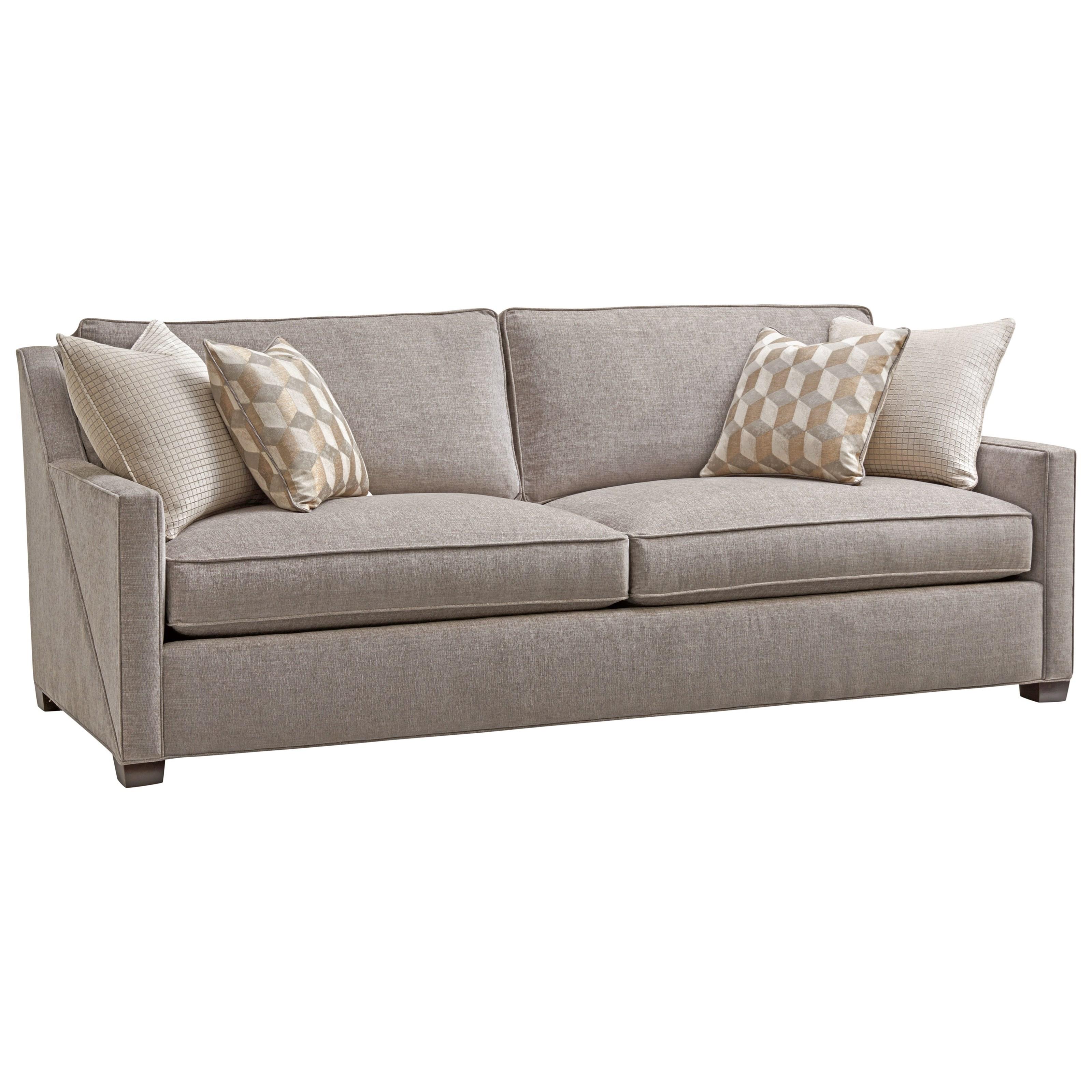 Lexington Zavala 7113 33 Wright Contemporary Two Seat Sofa John V Schultz Furniture Sofas