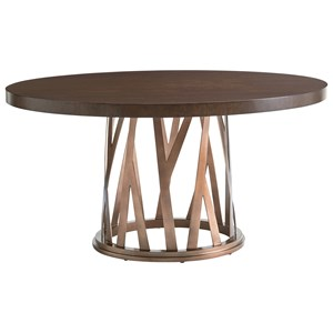 Lexington Zavala Horizons Round Dining Table