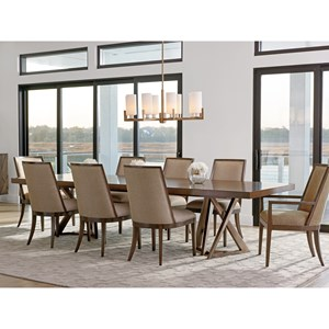 Lexington Zavala 9 Pc Dining Set