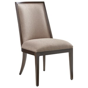 Lexington Zavala Ellipsis Upholstered Side Chair