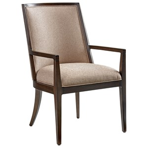 Lexington Zavala Ellipsis Upholstered Arm Chair