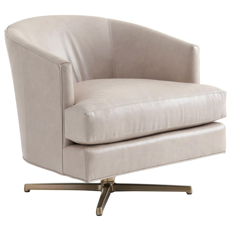 Lexington Zavala Ll7654 11bsw Graves Swivel Chair Brass
