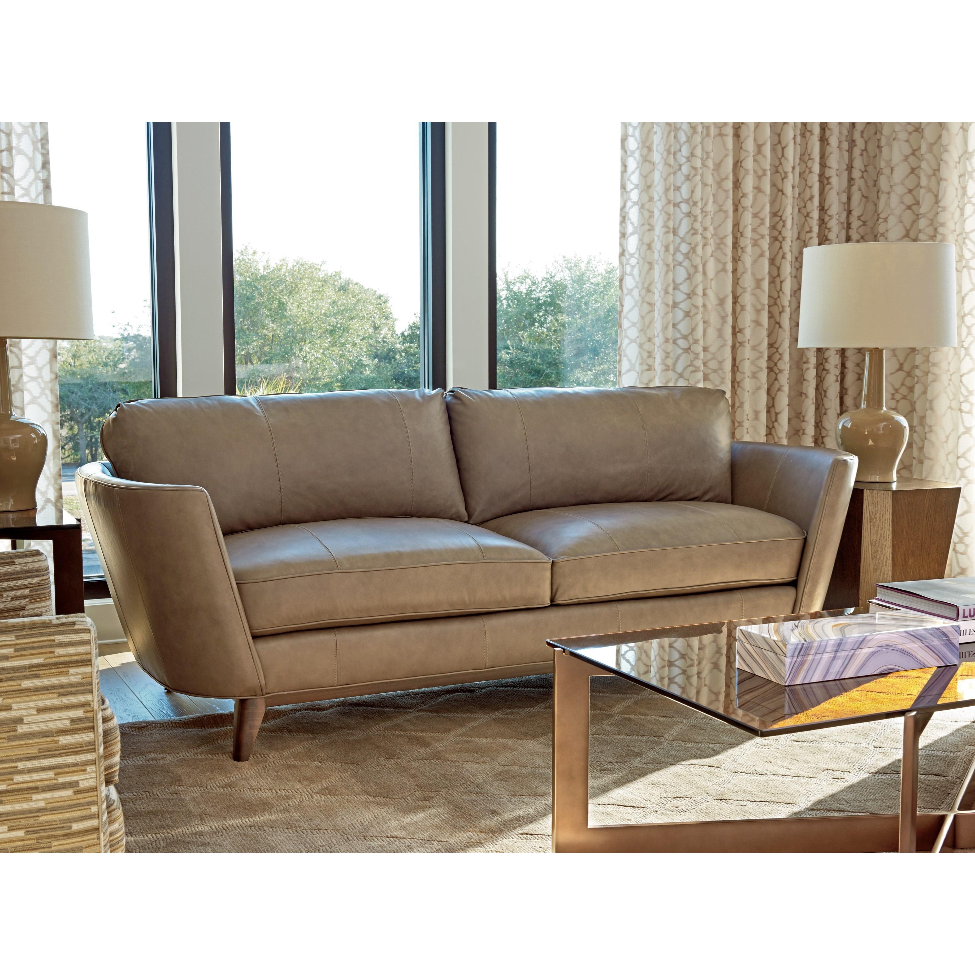 Lexington Zavala Ll7928 33 Kahn Modern Sofa Baer S