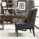 Lexington 11 South Three Drawer Journalist Writing Desk - Shown with Mode Dining Chair and Two Synergy Stacking Hutches