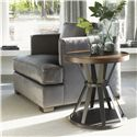 Lexington 11 South Profile Lamp Table with Hourglass Base - Shown with Fillmore Chair