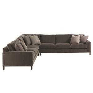 Lexington 11 South 3-Piece Upholstered Chronicle Sectional