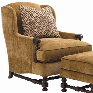 Lexington Fieldale Lodge Bradbury Wing Chair
