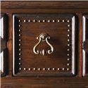 Lexington Fieldale Lodge Nine-Drawer Prescott Dresser & Lakeview Landscape Mirror Combination - Decorative Nailhead Trim and Custom Designed Hardware Make the Prescott Dresser Stand Out