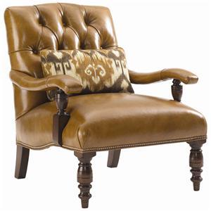 Lexington Fieldale Lodge Wilshire Leather Chair