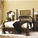 Lexington Florentino California King Soaring Extended Spiral Post Bed