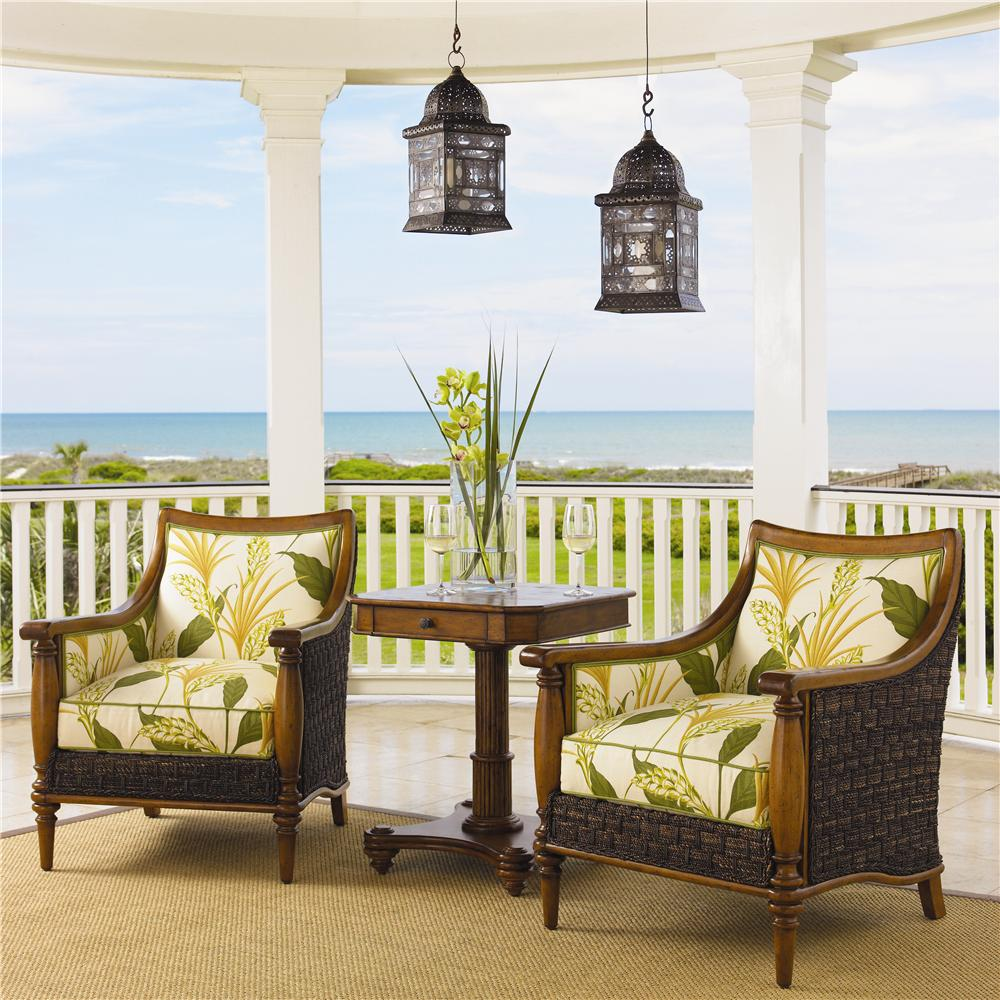 Tommy Bahama Home Island Estate 1695 11 Agave Wicker Chair