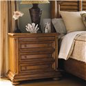 Tommy Bahama Home Island Estate Martinique Night Stand with Pullout Shelf - Bed Shown is No Longer Available by the Manufacturer