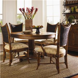 Tommy Bahama Home Island Estate 5 Piece Cayman Kitchen Table Dining Set & Table and Chair Sets | Ft. Lauderdale Ft. Myers Orlando Naples ...