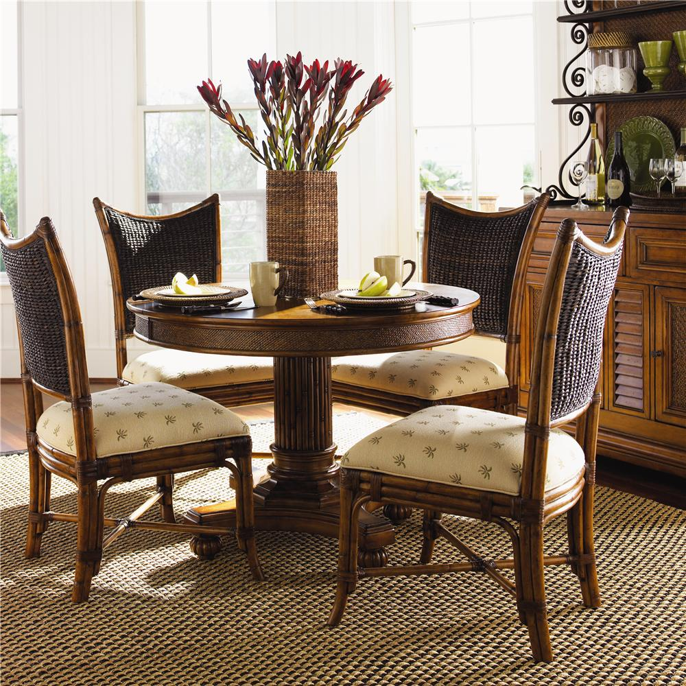 Tommy Bahama Home Island Estate Round Cayman Kitchen Table