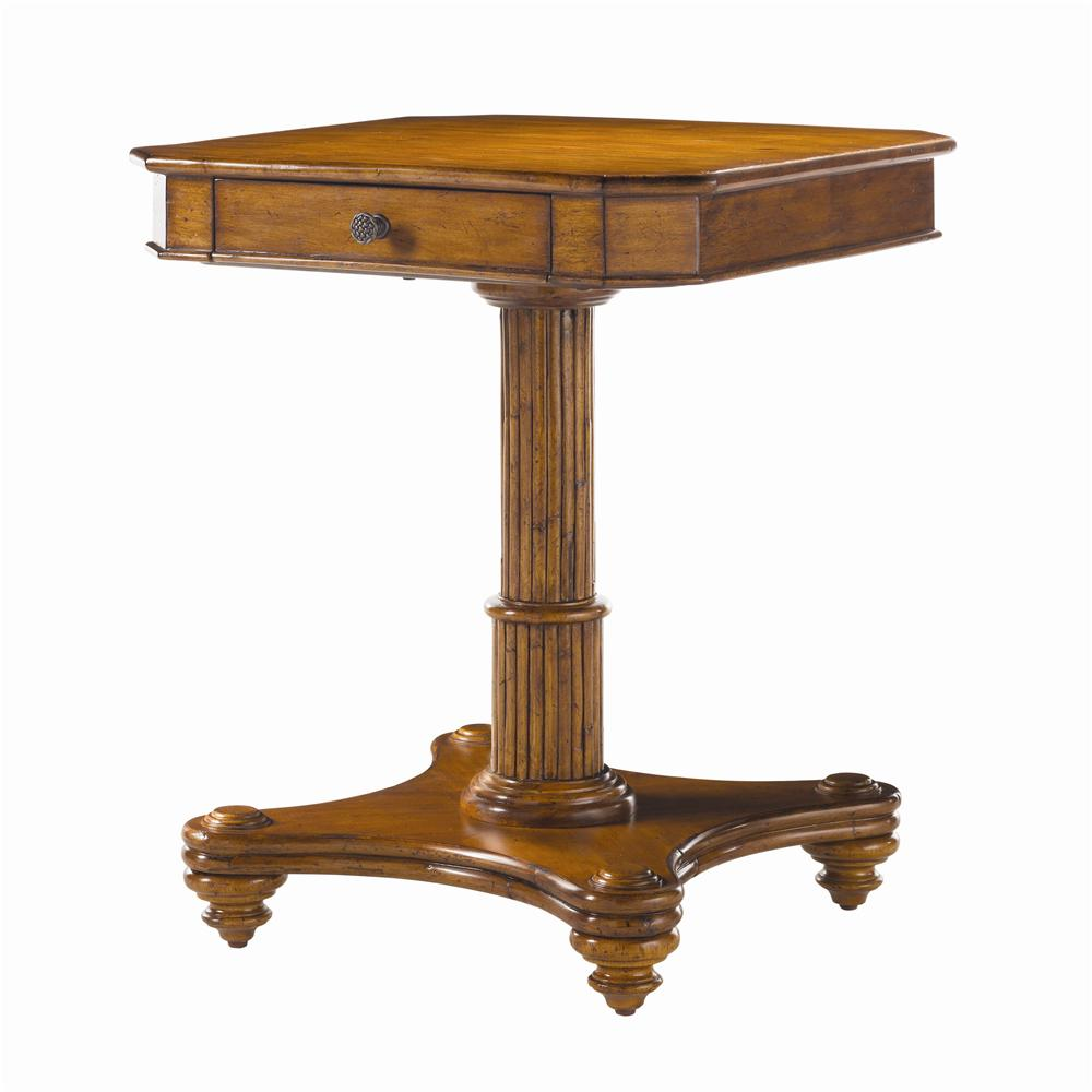 Island Estate Cinnamon Cove Lamp Table by Tommy Bahama Home at Baer's Furniture