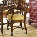 Tommy Bahama Home Island Estate <b>Quick Ship</b> Samba Dining Game Chair with Casters