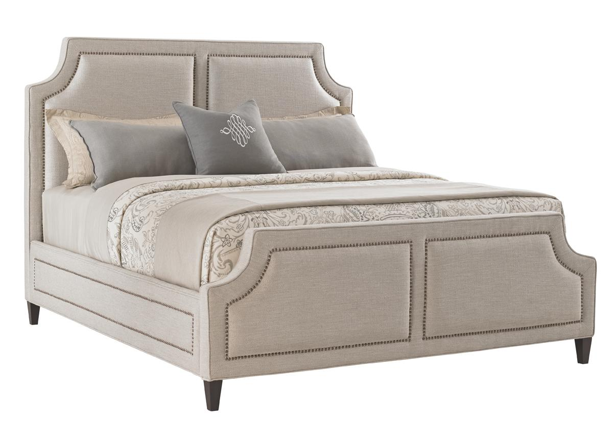 Kensington Place Cal King Chadwick Upholstered Bed by Lexington at Johnny Janosik