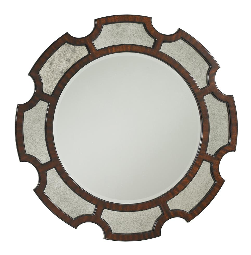 Kensington Place Del Mar Round Mirror by Lexington at Johnny Janosik