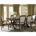 Lexington Kensington Place 7 Pc Dining Set - Item Number: 708-877+2x883+4x882