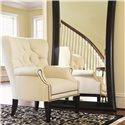 Lexington Lexington Upholstery Wilton Tufted Back Wing Chair - Shown in Room Setting
