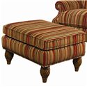 Lexington Lexington Upholstery Wallace Upholstered Chair and Ottoman - Wallace Ottoman