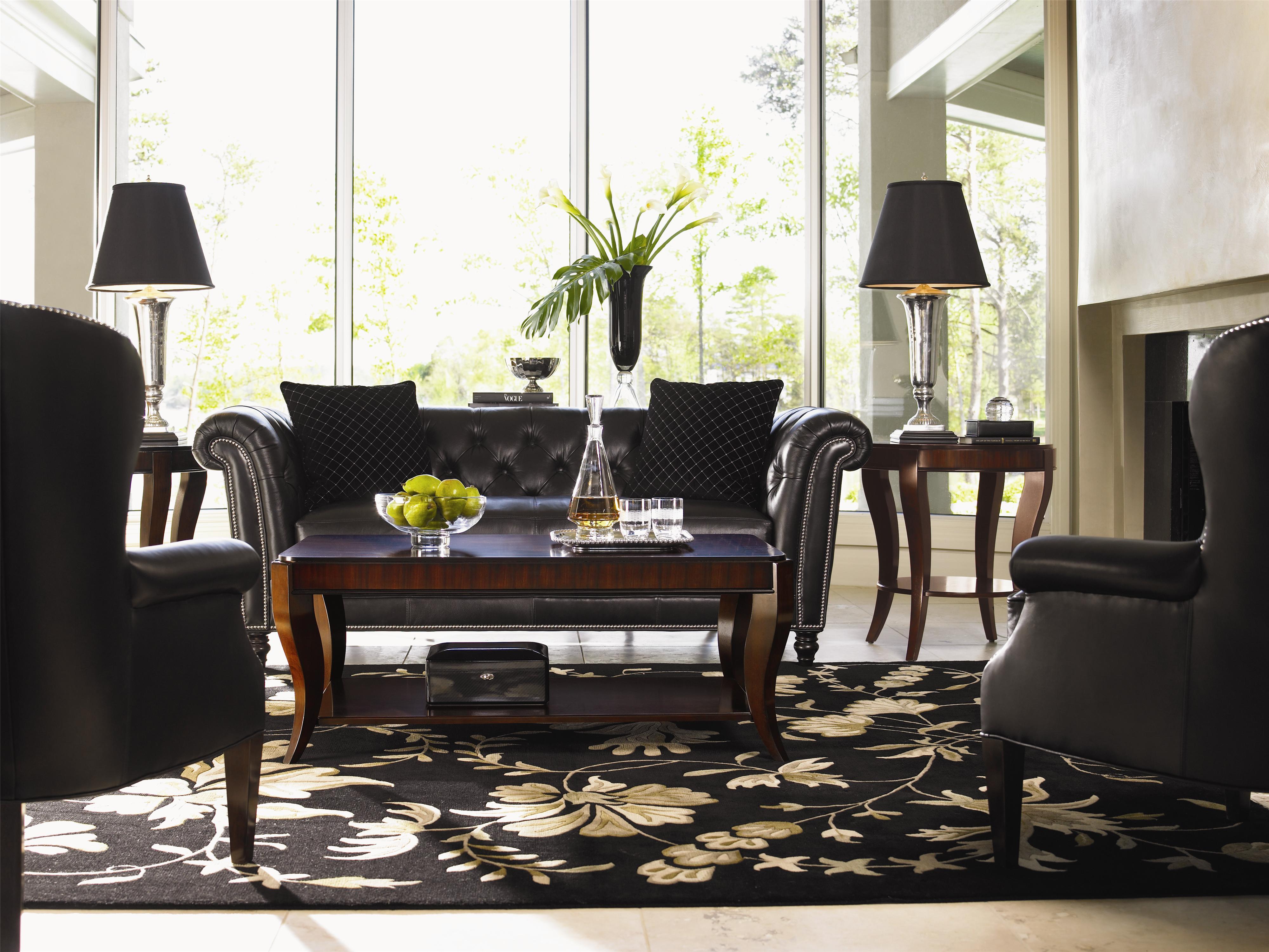 Lexington Lexington Leather Westchester Tufted Back Sofa