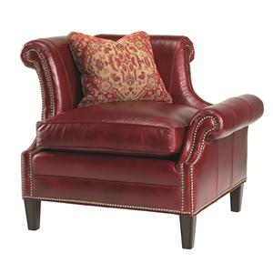 Lexington Lexington Leather Braddock Laf Upholstered Chair