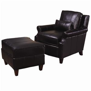 Rosalind Chair and Ottoman