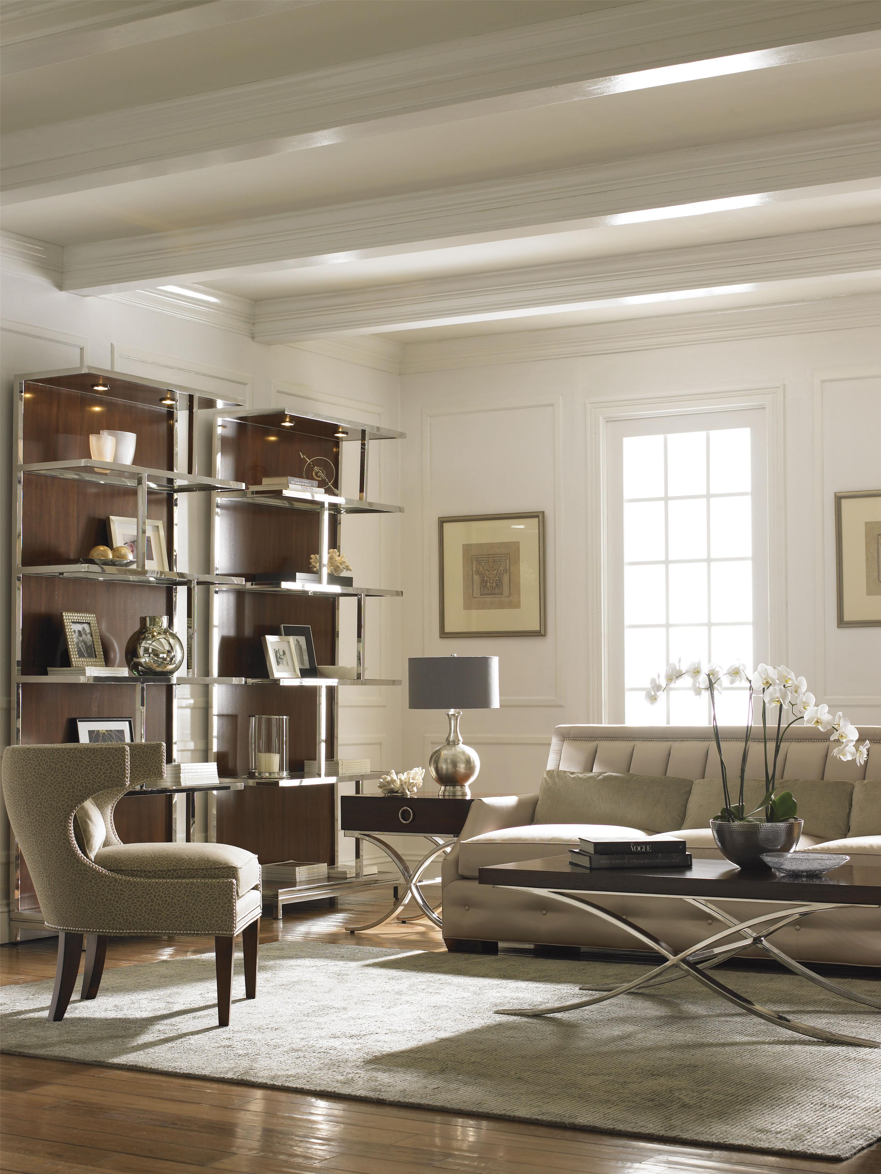 Lexington Mirage Kelly Bookcase Belfort Furniture Open