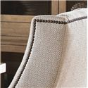 Lexington Monterey Sands Stonepine Chair with Slope Arms - Detail of Decorative Nailhead Trim
