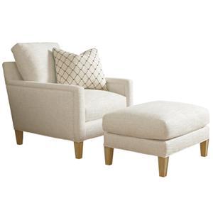 Signal Hill Chair & Ottoman