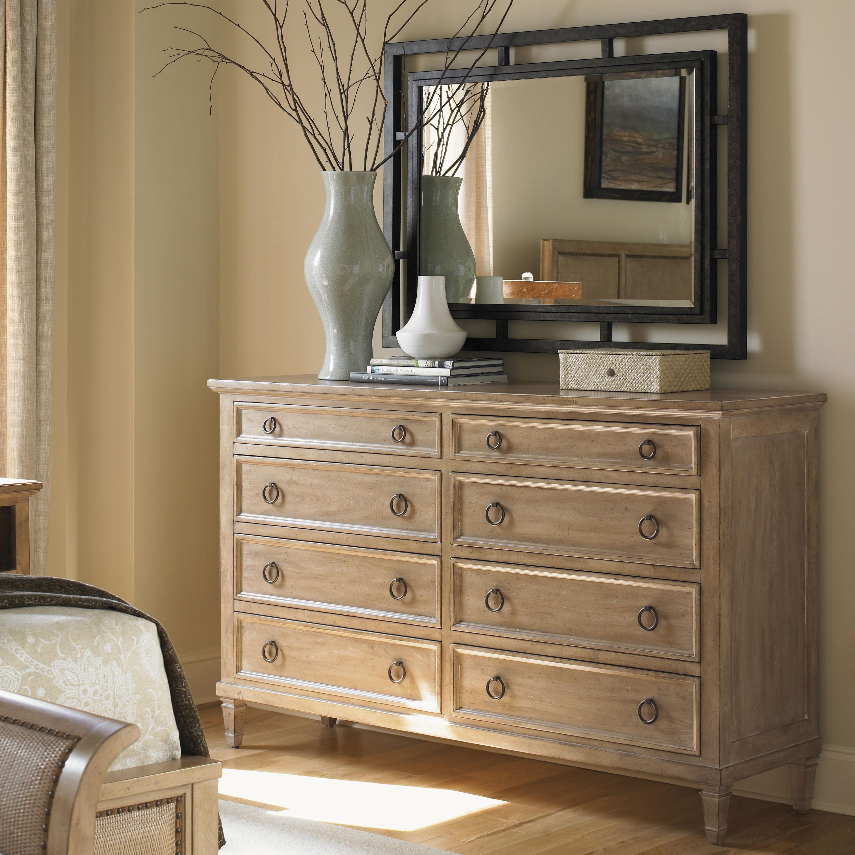 Lexington Monterey Sands Hollister Dresser & Salinas Mirror - Item Number: 830-222+205