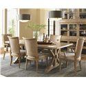 Lexington Monterey Sands 7 Piece Set - Item Number: 830-877+2x882-01+2x883-01