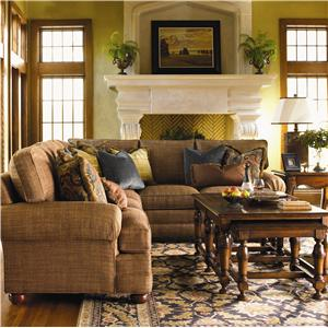 Lexington Personal Design Series <b>Customizable</b> Overland Sectional