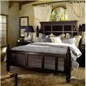 Tommy Bahama Home Kingstown California King Malabar Panel Bed - Item Number: 619-135C