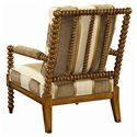 Tommy Bahama Home Kingstown Maarten Chair with Padded Arms - Back View