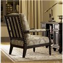 Tommy Bahama Home Kingstown Maarten Chair with Padded Arms - Shown in Living Room