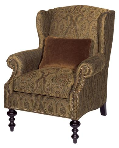 Kingstown Wells Wing Chair by Tommy Bahama Home at Baer's Furniture